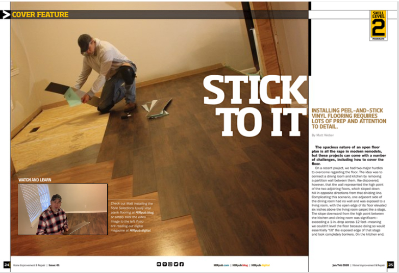 Style Selections Vinyl Flooring from Lowe's
