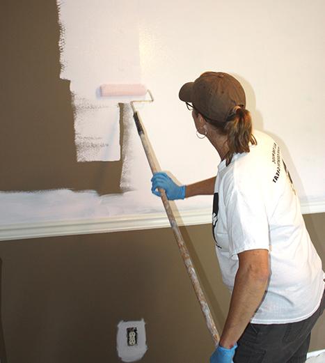 Paint Roller Application